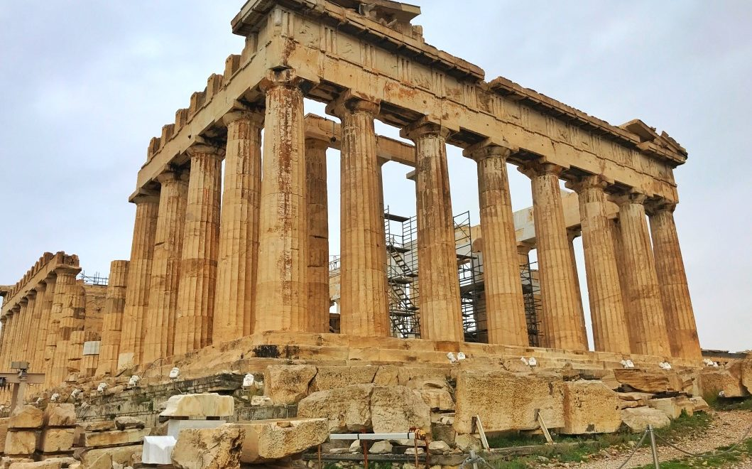 Salire sull'acropoli di Atene per visitare il Partenone