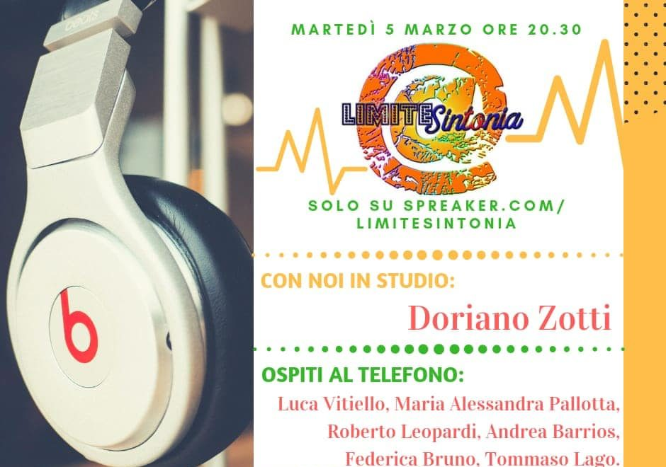 Intervista a Radio Limite Sintonia