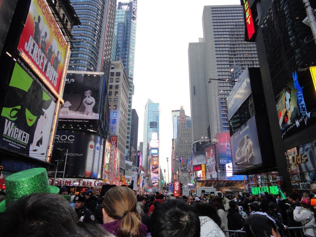 festeggiare il capodanno a new york