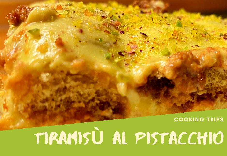 La ricetta per preparare il tiramisù al pistacchio