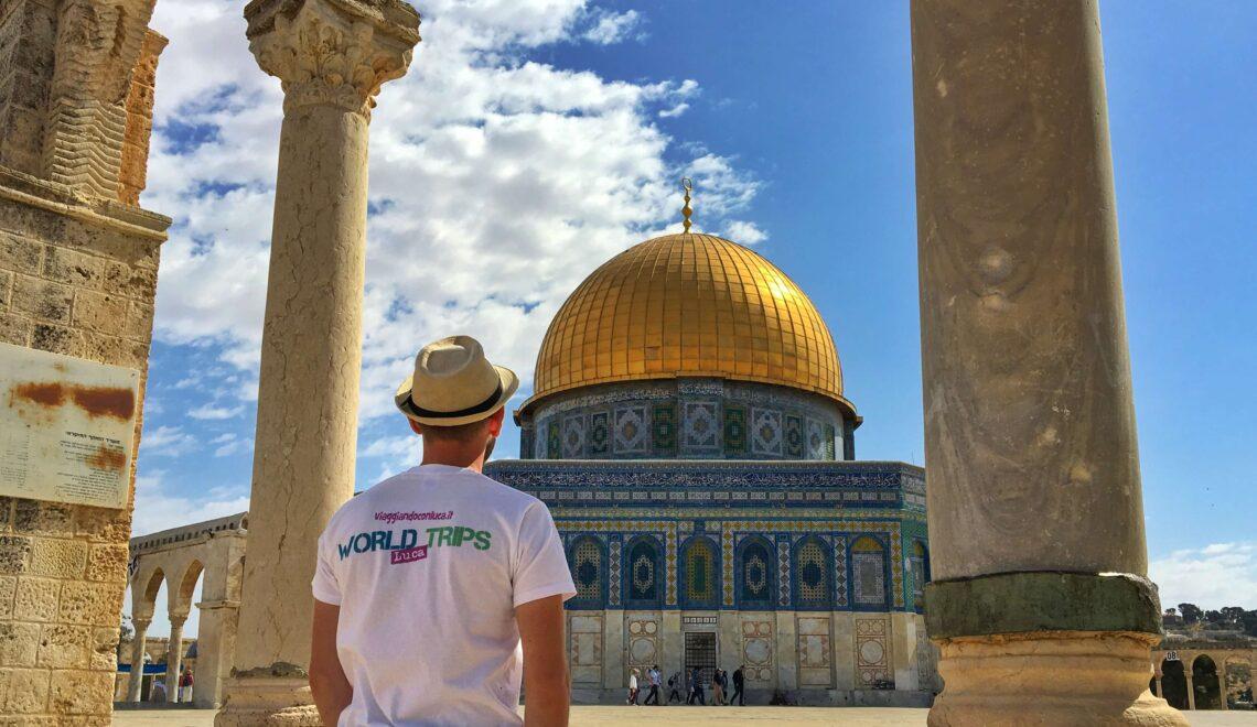 Salire sulla Spianata delle Moschee a Gerusalemme