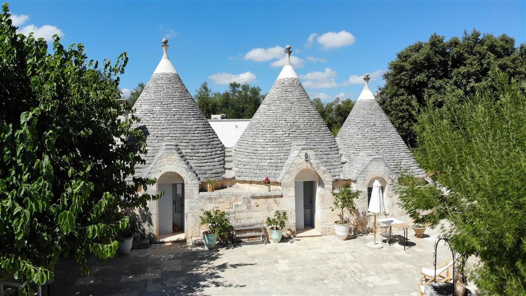Trullo Santangelo: dormire in un trullo in Puglia