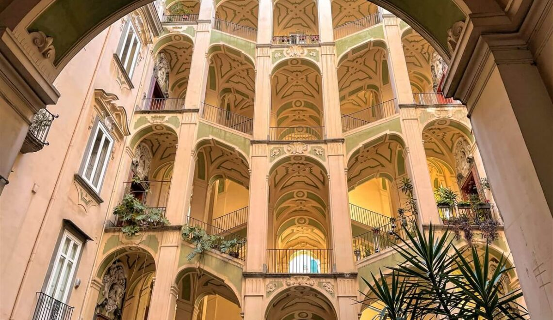 Palazzo dello Spagnolo, capolavoro barocco nel centro di Napoli