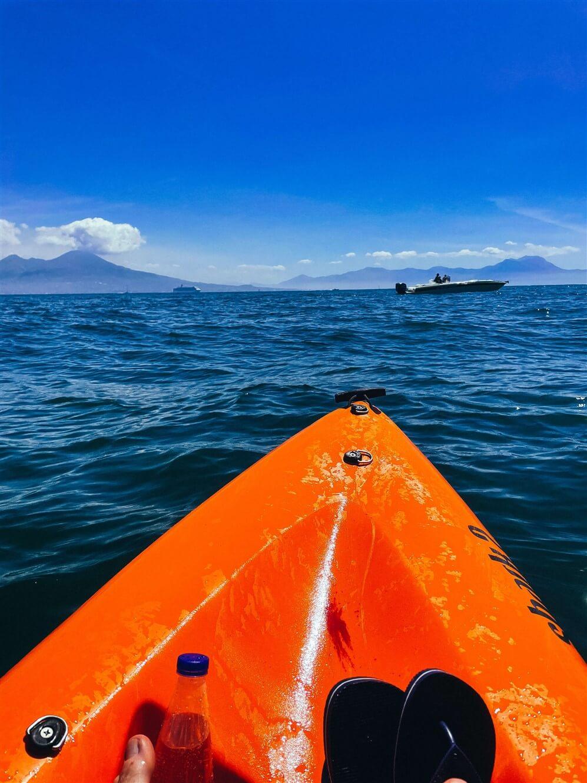 Kayak a Napoli