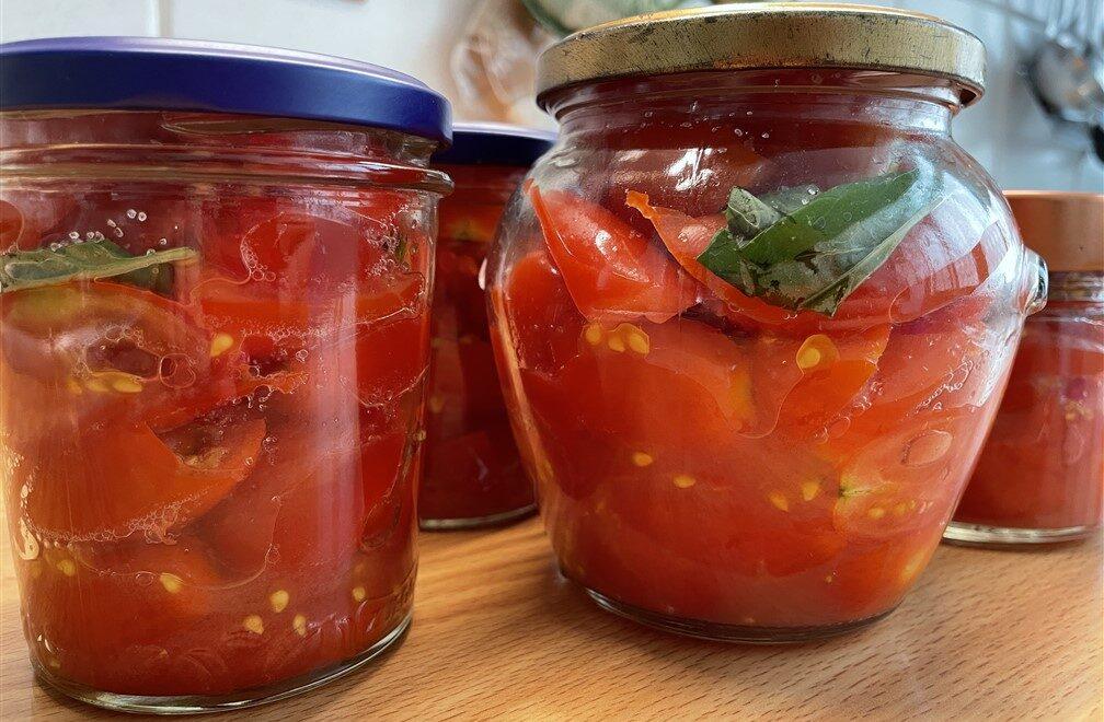 Come preparare conserve di pomodori in casa